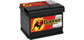 Akumuliatorius Banner Power Bull 62 Ah 12V 540A 241x175x190mm